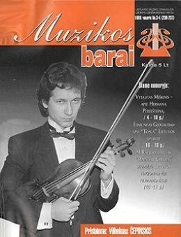 Muzikos barai, 1998, 3–4 (236–237)