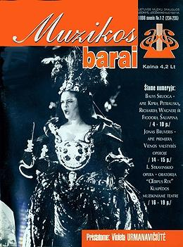 Muzikos barai, 1998, 1-2 (234–235)