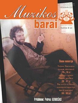 Muzikos barai, 1999, 6 (257)