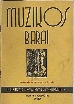 Muzikos barai, 1938, 8