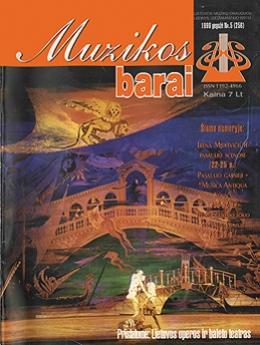 Muzikos barai, 1999, 5 (256)