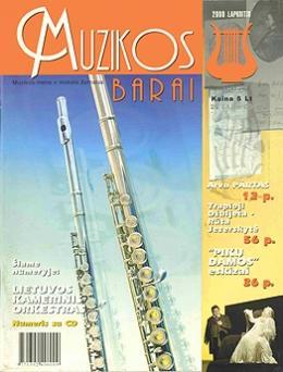 Muzikos barai, 2000, 11 (274)
