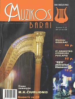 Muzikos barai, 2000, 9–10 (272–273)