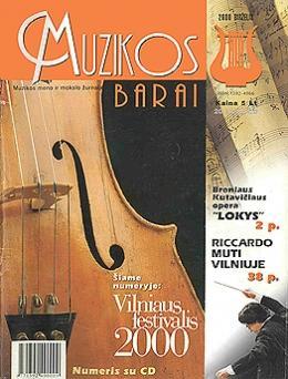 Muzikos barai, 2000, 6 (269)