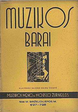 Muzikos barai, 1938, 6–7