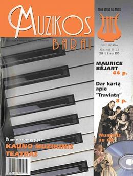Muzikos barai, 2000, 3–4 (266–267)