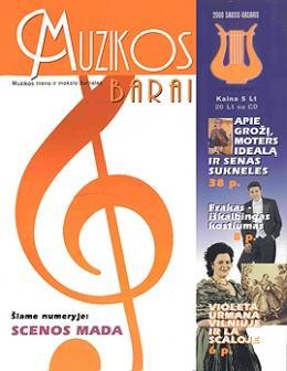 Muzikos barai, 2000, 1–2 (264–265)