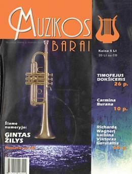 Muzikos barai, 2001, 11–12 (286–287)