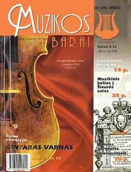 Muzikos barai, 2001, 7–8 (282–283)