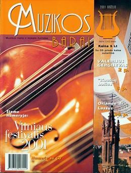 Muzikos barai, 2001, 6 (281)