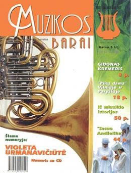Muzikos barai, 2001, 4–5 (279–280)