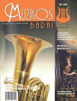Muzikos barai, 2001, 3 (278)
