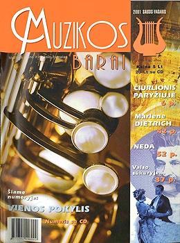 Muzikos barai, 2001, 1–2 (276–277)