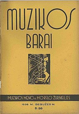 Muzikos barai, 1938, 5