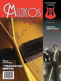 Muzikos barai, 2002, 11 (298)