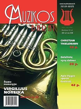 Muzikos barai, 2002, 7–8 (294–295)