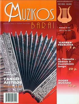 Muzikos barai, 2002, 3–4 (290–291)