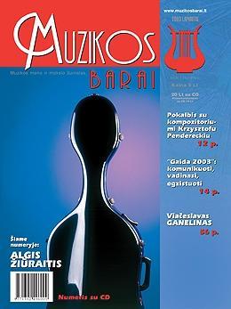 Muzikos barai, 2003, 11 (310)