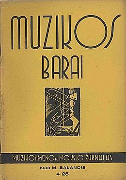 Muzikos barai, 1938, 4