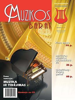 Muzikos barai, 2003, 3–4 (302–303)