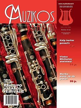Muzikos barai, 2004, 7–8 (318–319)