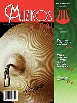 Muzikos barai, 2004, 6 (317)