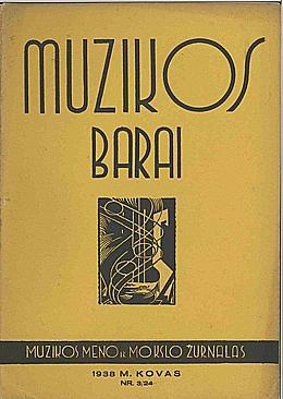 Muzikos barai, 1938, 3