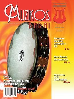 Muzikos barai, 2006, 11–12 (346–347)