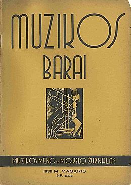 Muzikos barai, 1938, 2