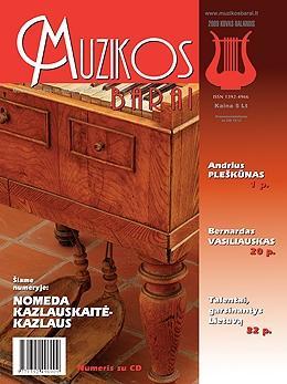 Muzikos barai, 2009, 3–4 (374–375)