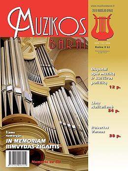 Muzikos barai, 2010, 9–10 (392–393)