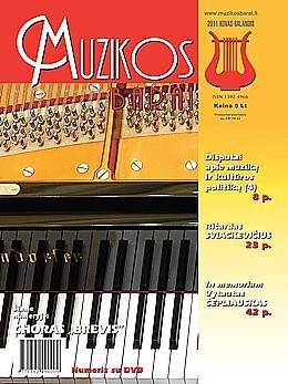 Muzikos barai, 2011, 3–4 (398–399)