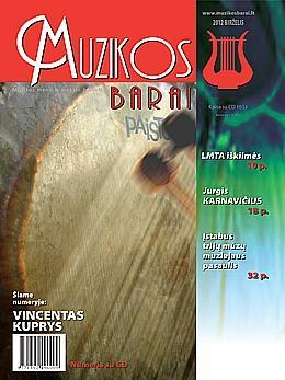 Muzikos barai, 2012, 5–6 (412–413)