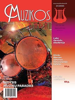 Muzikos barai, 2013, 11–12