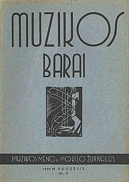 Muzikos barai, 1939, 9