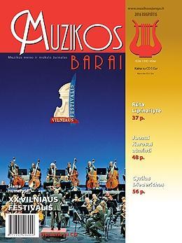 Muzikos barai, 2016, 7–8 (462–463)