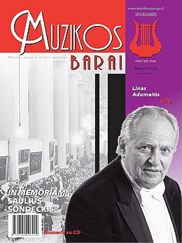Muzikos barai, 2016, 3–4 (458–459)