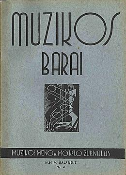 Muzikos barai, 1939, 4