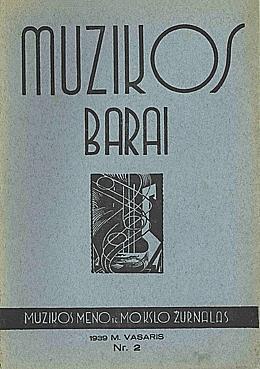 Muzikos barai, 1939, 3