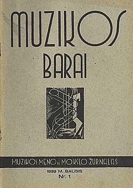 Muzikos barai, 1939, 1