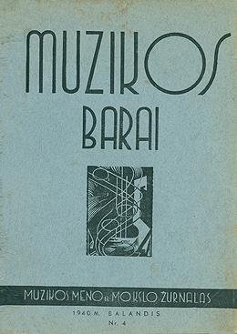 Muzikos barai, 1940, 4