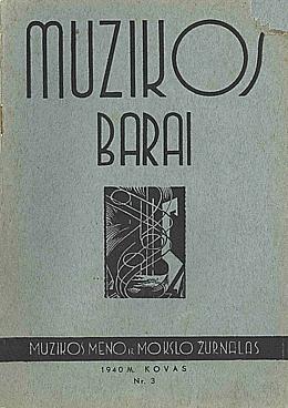 Muzikos barai, 1940, 3