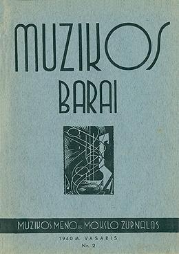 Muzikos barai, 1940, 2