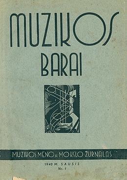 Muzikos barai, 1940, 1