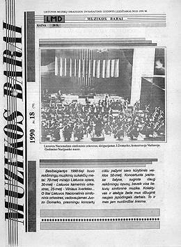 Muzikos barai, 1990, 18 (79)