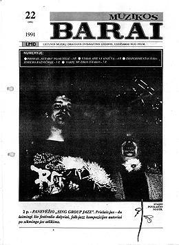 Muzikos barai, 1991, 22 (101)