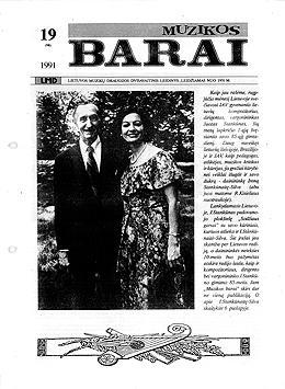 Muzikos barai, 1991, 19 (98)