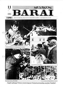 Muzikos barai, 1991, 11 (90)