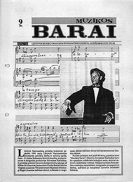 Muzikos barai, 1991, 9 (88)