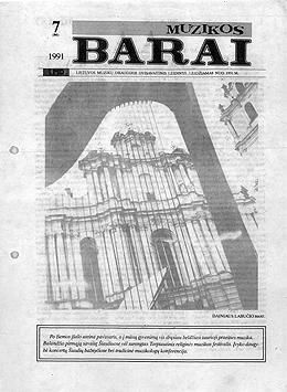 Muzikos barai, 1991, 7 (86)